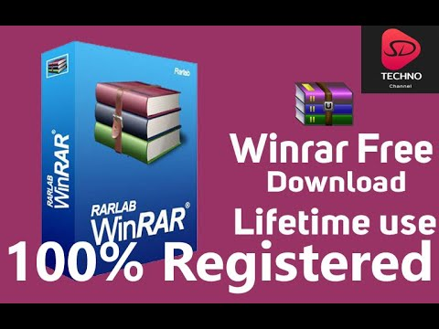 WinRAR Lifetime Licence Key || WinRAR Crack 100% Real || SD Techno Channel