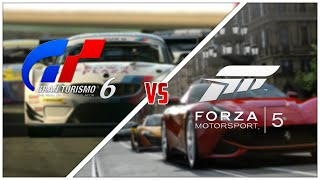 My Thoughts Forza Motorsport 5 Vs Gran Turismo 6