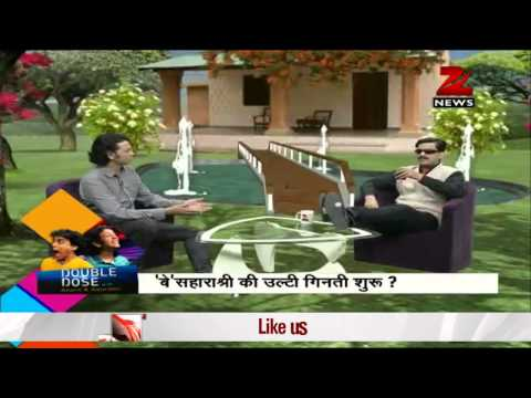 Double Dose: Watch the comical interview of Subrata Roy!
