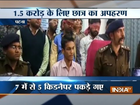 Bihar: Five held for kidnapping of 14-year-old boy in Patna