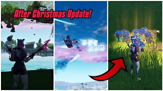 Top 5 game breaking glitches after Christmas update (New) Fortnite Glitches Season 7