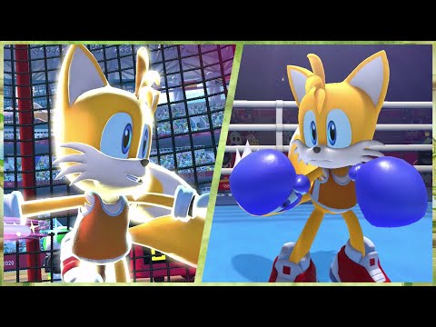 All 24 Events (Tails gameplay) | Mario & Sonic at the Olympic Games Tokyo 2020 (Switch)