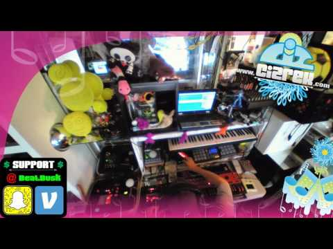 Beatbox Looping - WebCam Stream Test ( 9-19-2016 )