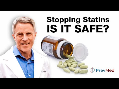 Stopping statins pt2 (Lipitor, Crestor, Simvastatin,): How to do it safely: stable, short term
