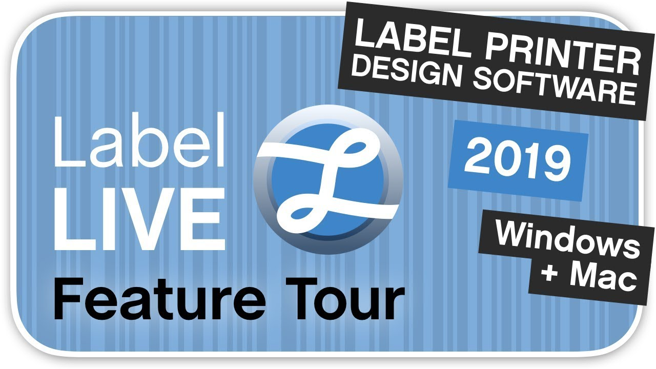 Label LIVE Universal Label Design And Thermal Printer Software
