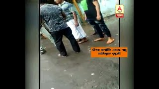 Gang war in open road at Beniapukur, local goon Pappu seen with pistol