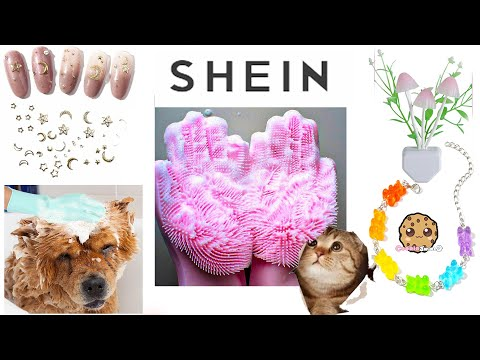 Pet Gloves, Nail Decals, Necklaces + More Shein Haul Video