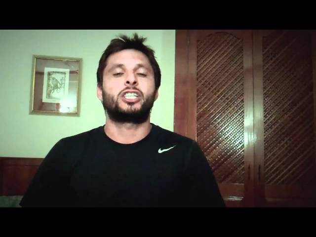 Shahid Afridi - IRUSA Travel Video