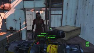 Секс в Fallout 4 - Без цензуры! Откровенная сексуальная сцена!
