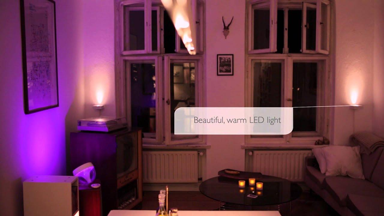 Philips lighting relooking salle de séjour berlin applique