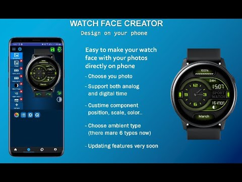 Watch Face Creator For PC Windows 7/8/10 Free Download