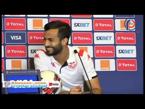 Can 2019 : En conférence de presse,un joueur Tunisien réfuse de s'exprimer en Français