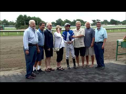 video thumbnail for MONMOUTH PARK 8-23-19 RACE 1