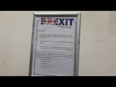 Post Brexit bureaucracy bites British store in Brussels