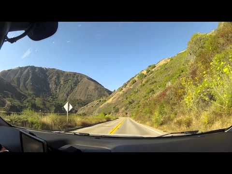 Drive Time-lapse ~ California Highway 1 from Los Angeles to San Francisco