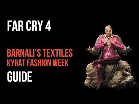 Far Cry 4 Walkthrough Barnali's Textiles Kyrat Fashion Week Gameplay Let's Play