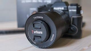 Объектив 7artisans 60mm F2.8 Macro . Обзор +фото