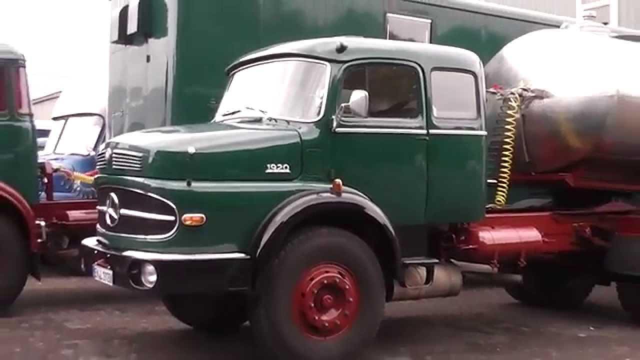 Mercedes Benz 1920   Oil Transport Truck