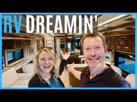 RV DREAMING! 2019 TIFFIN ALLEGRO CLASS A TOUR! (LA MESA PHOENIX AZ RV SHOW)