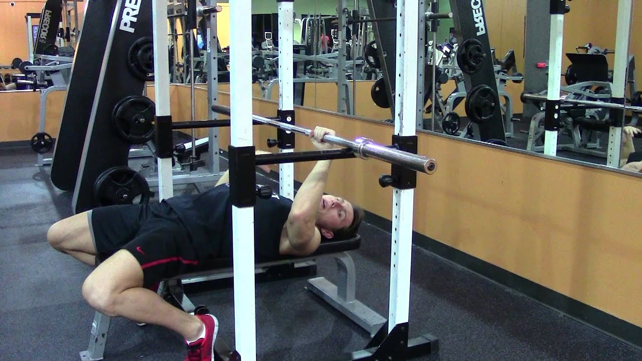 Bench Rack Lockout Exercises To Increase Bench Press