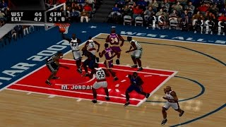 NBA Live 2003 Gameplay Exhibition Mode (PlayStation)