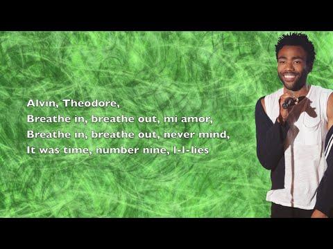 Childish Gambino - Earth: The Oldest Computer (Last Night) - Lyrics