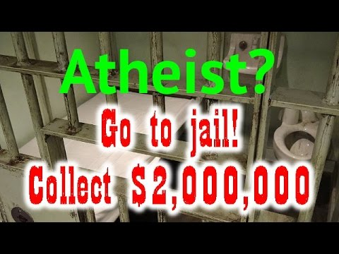 Jailed Atheist awarded a $2 million indemnity (The Infidel 2014-11-11)