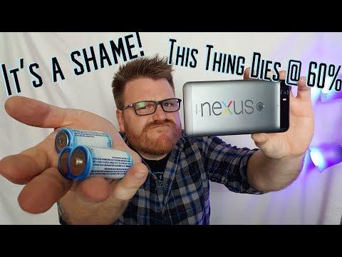 Google Nexus 6p battery issues RUINED this great phone...