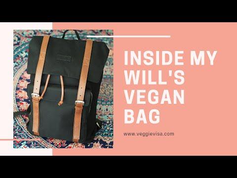 Look Inside my Will's Vegan Shoes Vegan Duffel Bag!