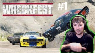 FlatOut ты ли Это ? Гоняем в Wreckfest:Next Car Game #1