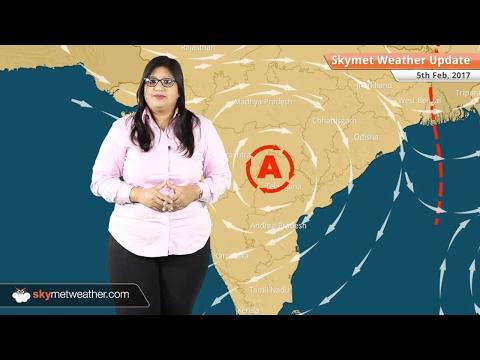 Weather Forecast for Feb 5: Snow in Kashmir, Himachal, Uttarakhand, Rain in Delhi, North India