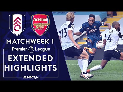 Fulham v. Arsenal | PREMIER LEAGUE HIGHLIGHTS | 9/12/2020 | NBC Sports