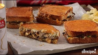 How to Make Tex Mex Ultimate Carnitas Grilled Cheese | Family Friendly Recipes | Allrecipes.com