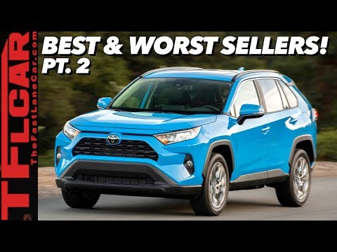 Here Are The Best & Worst Selling Cars This Year | Crossovers Continue To Dominate!