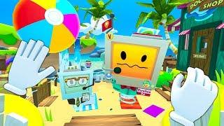 Symulator NAJGORSZYCH wakacji na plaży! (Vacation Simulator)