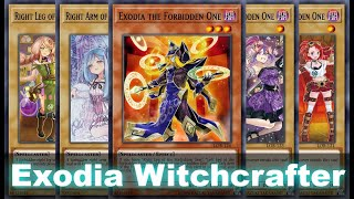 EXODIA WITCHCRAFTER OTK Assemble All 5 Witchcrafters to summon Quintet! Edel (Yu-Gi-Oh! Duel Links)