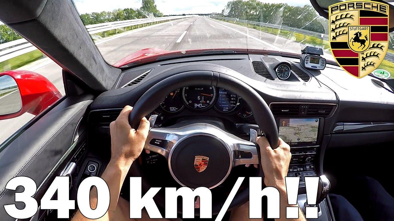 speeding autobahn and pretty good driver