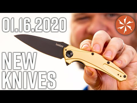 New Knives for the Week of January 16th, 2020 Just In at KnifeCenter.com
