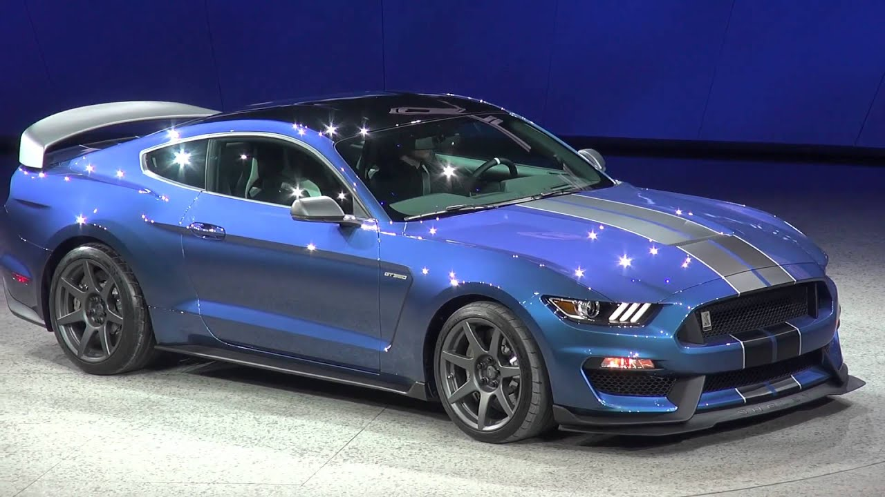 ford announces the 2016 shelby gt350r mustang - youtube