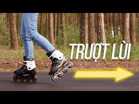 Dạy trượt patin -Hướng dẫn trượt lùi - Thegioipatin.com-CLB Patin Cầu Giầy
