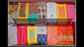 Diwali Haul 2017 Chennai Pondy bazar shopping Kurthies Silk Saree Salwars