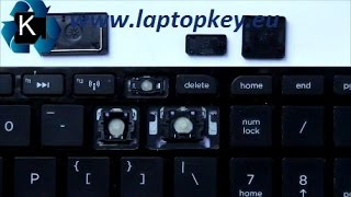 How to install key in keyboard Samsung NP370R5E NP450R5E and many others...