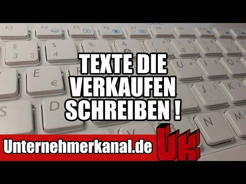 Copywriting Tutorial -  Texte die verkaufen schreiben (Deutsch)