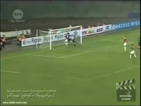 Dinamo Tbilisi 2-1 Wisla Kraków 30.09.2004 UEFA Cup