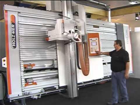Sierra Vertical Holz Her CUT 1280  YouTube