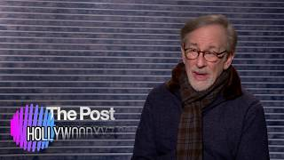 Steven Spielberg Interview The Post