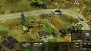 Let's play Frontline Fields of Thunder - #001 [1/2] Wehrmacht - Novaya Gorian townshipka township