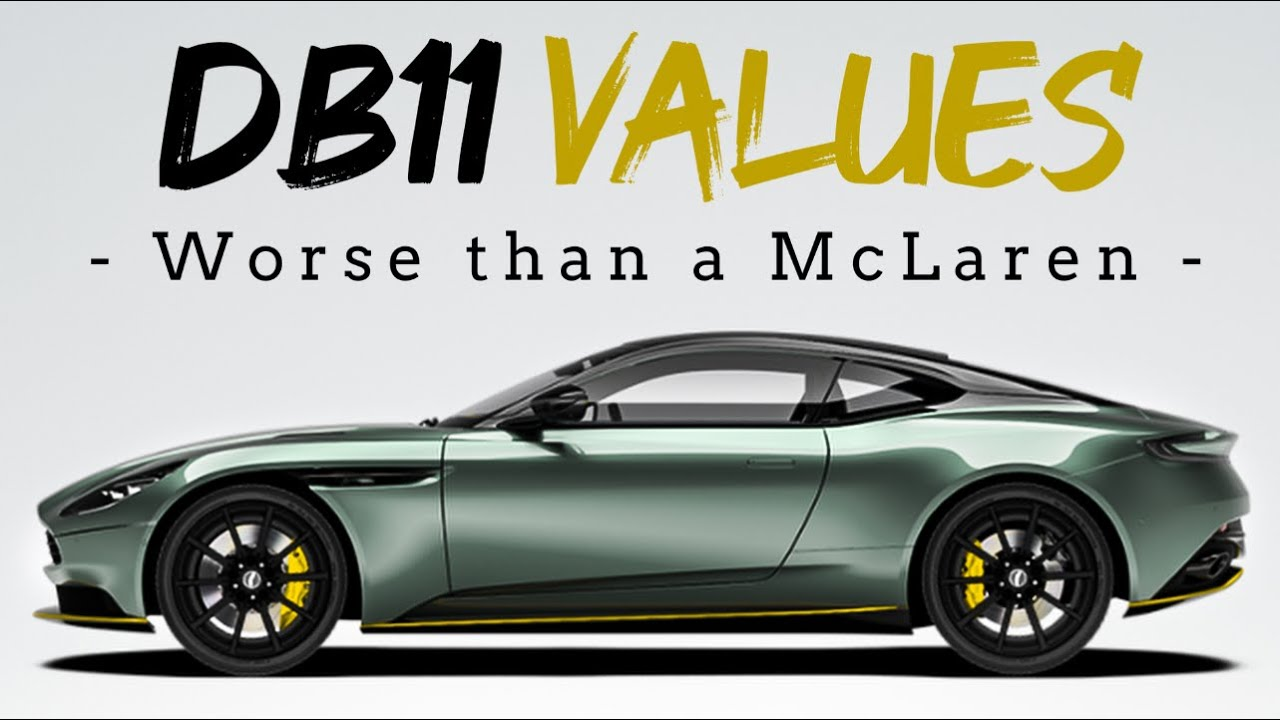 Why Now Might Be The Best Time To Buy A Db11 Aston Martin Db11 V8 V12 Amr Depreciation Analysis Youtube