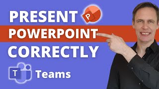 How to share PowerPoint Slides in Microsoft Teams | Recommended | Updated Feature