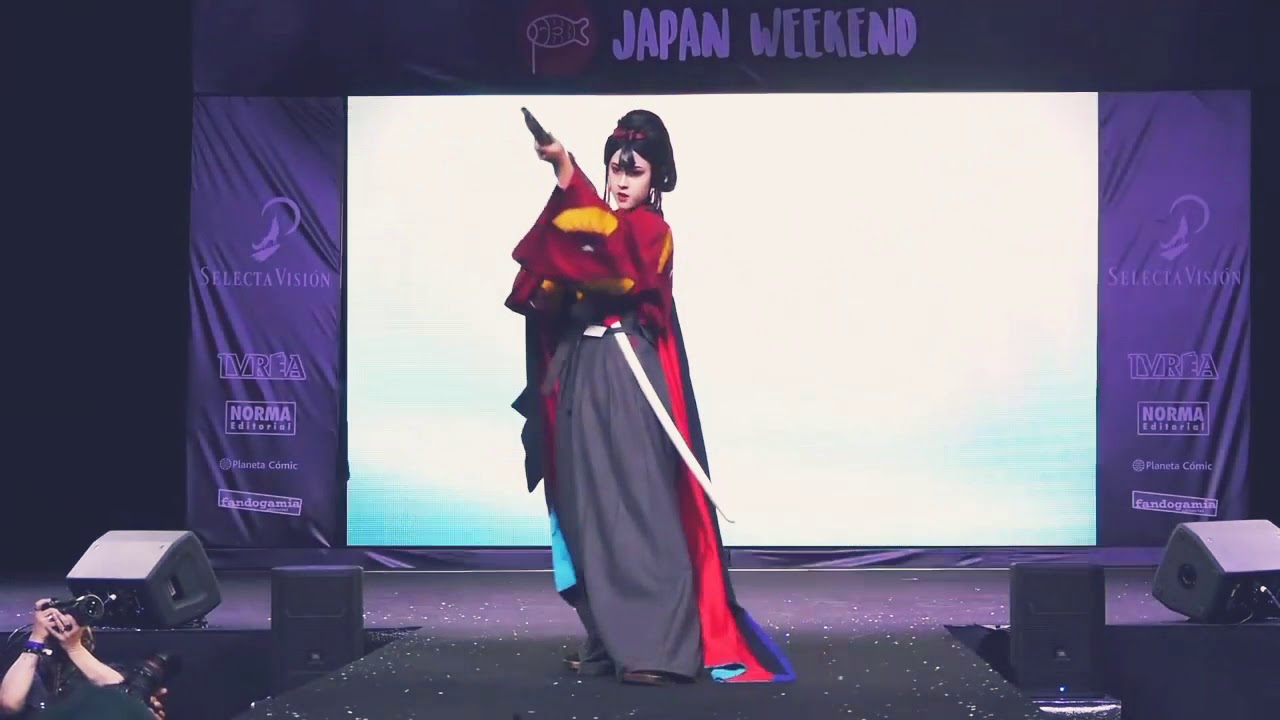 Lady Eboshi Cosplay Japan Weekend Madrid 2018 Youtube